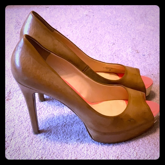 Guess Shoes - Guess-Peep toe Carmel heels